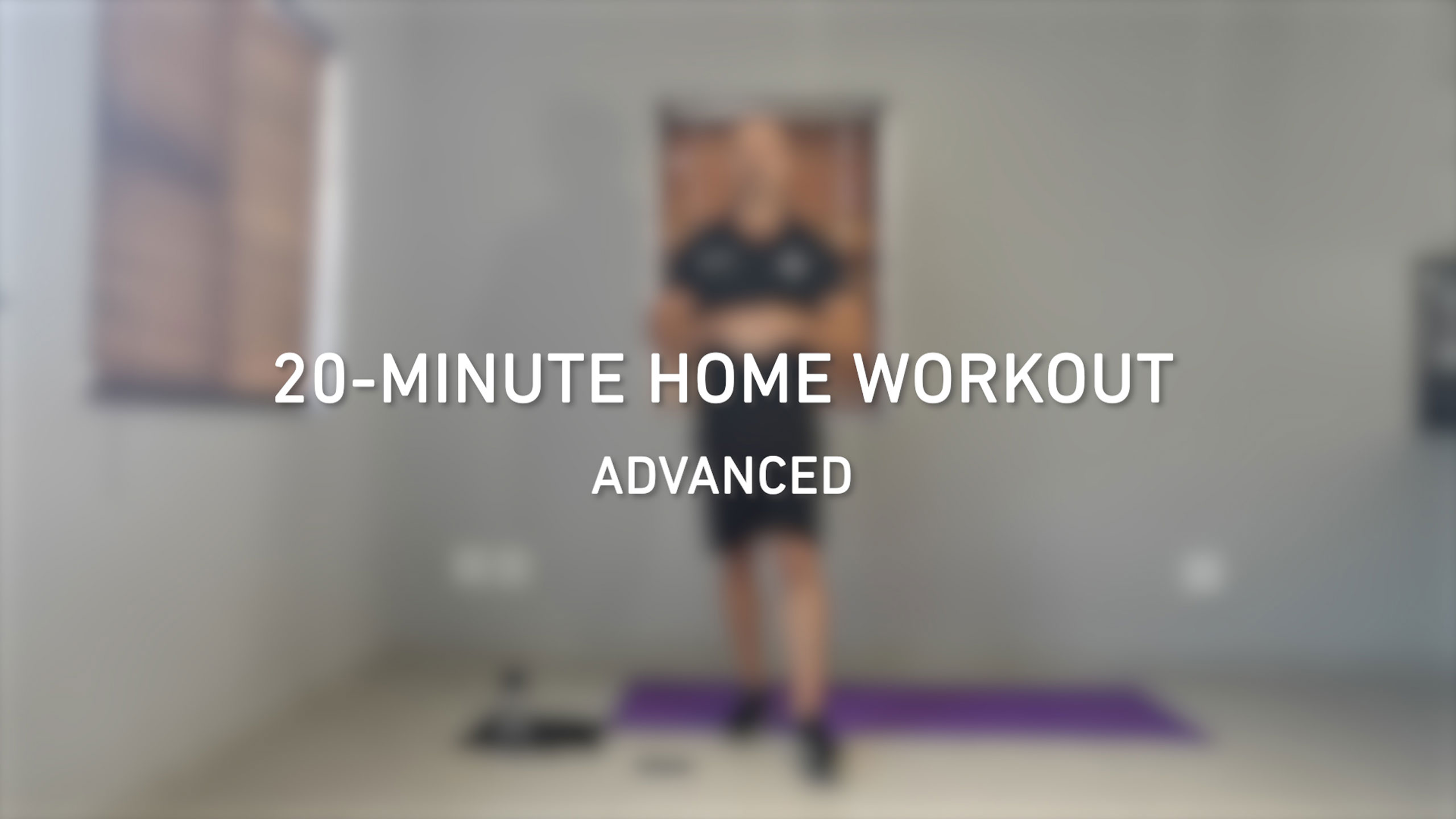 20-minute home workout videos | Advanced level | BODYTEC