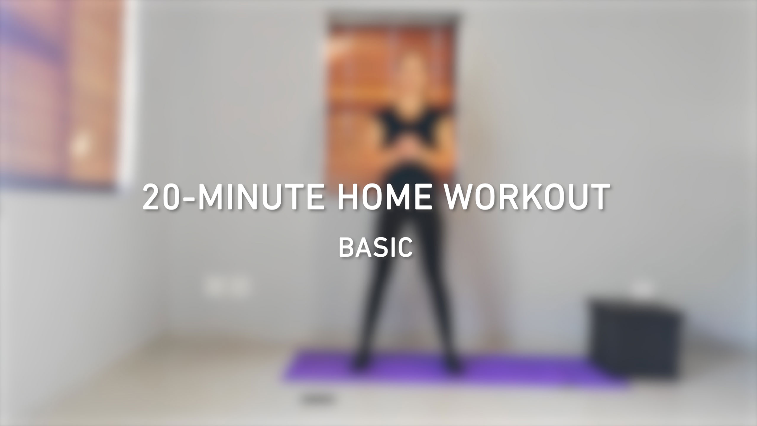 20-minute home workout videos | Basic level | BODYTEC