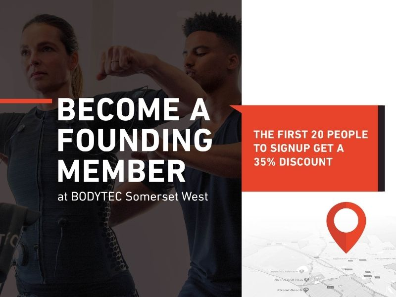 Become a Founding Member at BODYTEC Somerset West & SAVE R3185!! | BODYTEC